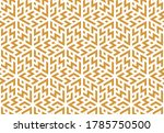 abstract geometric pattern with ... | Shutterstock .eps vector #1785750500