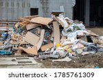 Pile Of Construction Waste In...