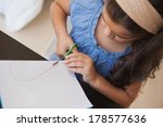high angle close up of a young... | Shutterstock . vector #178577636