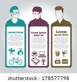 social media icons with group... | Shutterstock .eps vector #178577798