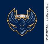 grim reaper esport gaming...   Shutterstock .eps vector #1785792413
