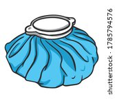 ice pack cold compress... | Shutterstock .eps vector #1785794576
