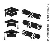 education vector icons ... | Shutterstock .eps vector #1785795143