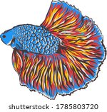 This Is A Vector Image Of ...
