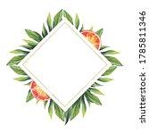 watercolor illustration. a... | Shutterstock . vector #1785811346