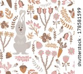 vector seamless pattern with... | Shutterstock .eps vector #178581599