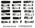 flat paint brush thin straight... | Shutterstock .eps vector #1785836333