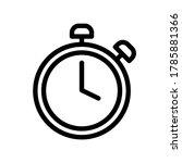clock alarm icon  vector icon...