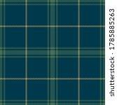 tartan plaid pattern in blue ...   Shutterstock .eps vector #1785885263