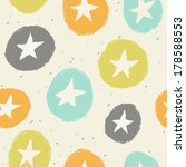 seamless simple pattern with... | Shutterstock .eps vector #178588553