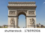 arc de triomphe   paris  france. | Shutterstock . vector #178590506