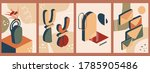 set of abstract organic... | Shutterstock .eps vector #1785905486