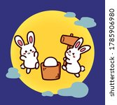 Illustration Of The Two Rabbits ...