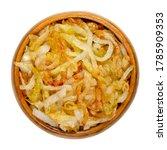 onions  golden brown roasted ... | Shutterstock . vector #1785909353