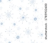 seamless pattern with blue... | Shutterstock .eps vector #1785932600