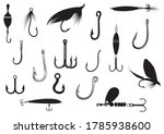 set of fishing bait. collection ...   Shutterstock .eps vector #1785938600