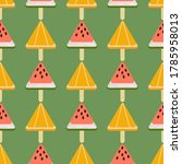 seamless pattern with... | Shutterstock .eps vector #1785958013