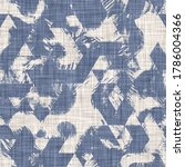 seamless french farmhouse linen ... | Shutterstock . vector #1786004366