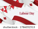 canada labour day banner.... | Shutterstock .eps vector #1786052513