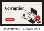 corruption web site landing...