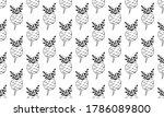vector seamless pattern of...   Shutterstock .eps vector #1786089800