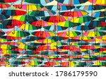 Multicolored Umbrellas...