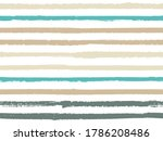 hand drawn striped seamless... | Shutterstock .eps vector #1786208486