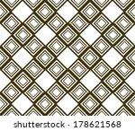 seamless pattern stylish modern ... | Shutterstock .eps vector #178621568