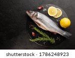 Raw Sea Bass With Fresh...