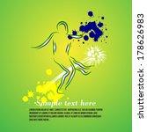 vector illustration of soccer... | Shutterstock .eps vector #178626983