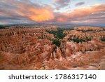 Bryce Canyon  Utah   Usa   July ...