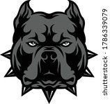 head of aggressive american... | Shutterstock .eps vector #1786339079