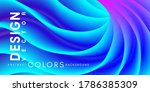 neon colorful abstract... | Shutterstock .eps vector #1786385309
