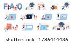 set of male and female... | Shutterstock .eps vector #1786414436