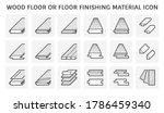 wood floor and material vector... | Shutterstock .eps vector #1786459340