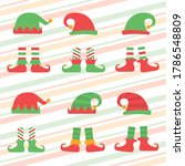 Christmas Elf Hat And Shoes ...