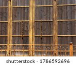 Large Wooden Gate To A...