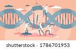 biotech industry as genetic... | Shutterstock .eps vector #1786701953