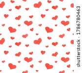seamless watercolor pattern... | Shutterstock . vector #1786780463