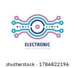 data digital electronic... | Shutterstock .eps vector #1786822196