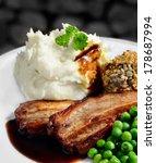 juicy grilled pork belly strips ...