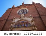 Rose Window And Painted...