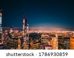 New York City. Famous View Of...