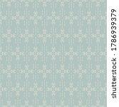 christmas seamless pattern ... | Shutterstock .eps vector #1786939379