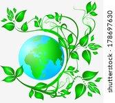 ecology logo   Shutterstock .eps vector #178697630