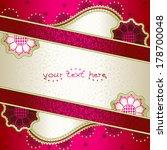 vibrant pink banner inspired by ... | Shutterstock .eps vector #178700048