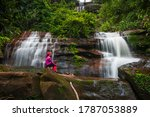 Young Girl Hiking In Tad Wiman...