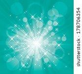burst vector background. | Shutterstock .eps vector #178706354