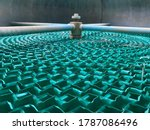 Cooling Pad In The Cooling Tower