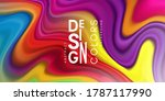 colorful abstract background... | Shutterstock .eps vector #1787117990